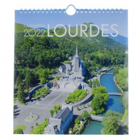 Calendrier de Lourdes 2022 grand format