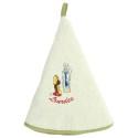 Essuie-mains avec broderie de Lourdes