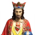 Christ the King large statue in resin 118cm