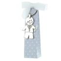 Boîte de Communion avec un porte-clés et des chocolats