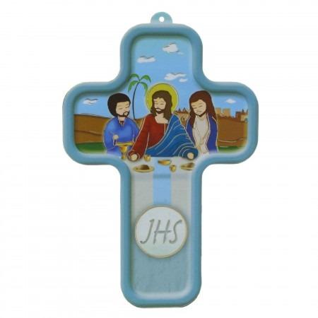 Croix de Communion en bois 13,5cm