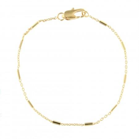 Bracelet dizanier moderne en Plaqué Or