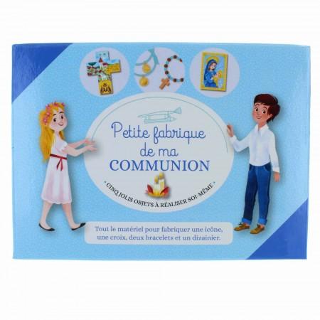 """Coffret de Communion créatif """"Petite Fabrique de ma communion"""""""