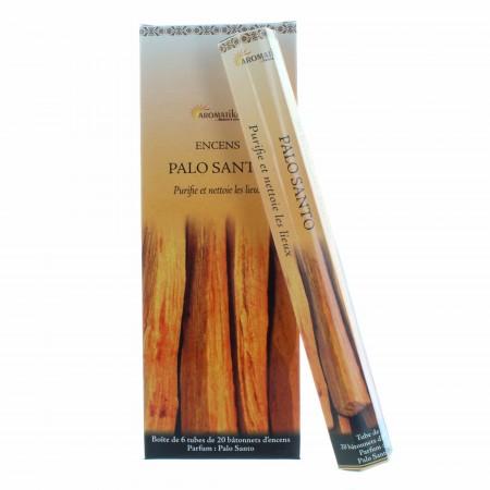 Encens religieux de purification Palo Santo, 20 bâtonnets