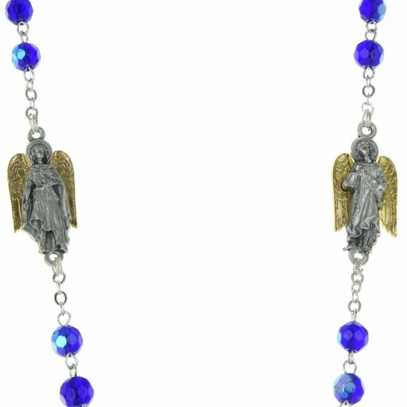 Chapelet des Archanges avec une notice explicative
