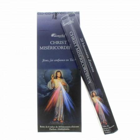 Encens religieux Jésus Miséricordieux 20 bâtonnets