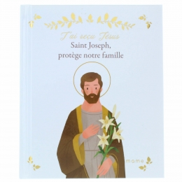 """Religious book for children """"Saint Joseph protects our family"""