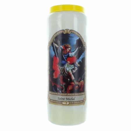 Saint Michael novena candle 17.5 cm
