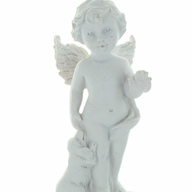Collier argenté avec un pendentif en coeur de l'Apparition de Lourdes
