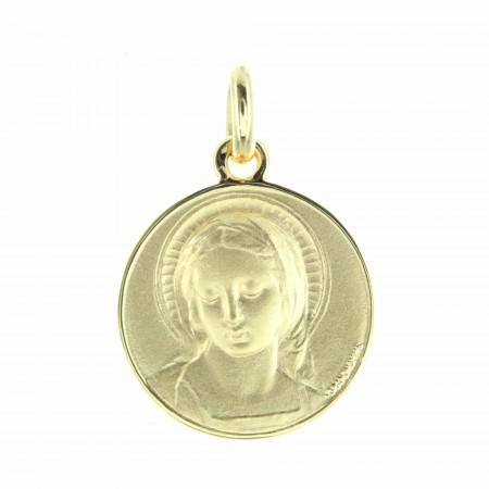 Medal of the Virgin Mary in 18 karat gold