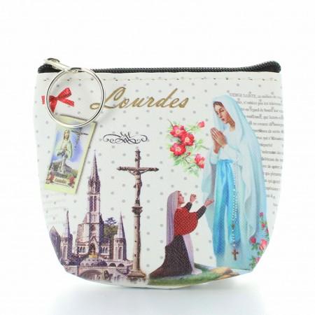 Porte monnaie de l'Apparition de Lourdes