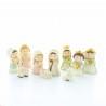 Nativity scene set 10 figures | Resin | 6.5cm