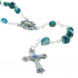 Mother-of-pearl rosaries