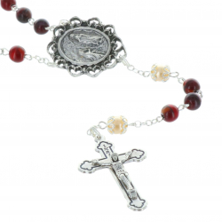 Lourdes water rosaries