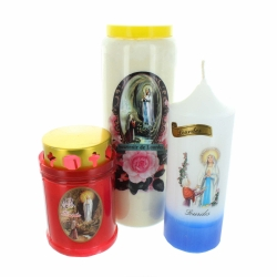 RELIGIOUS CANDLES AND INCENSE