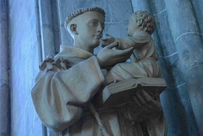 Saint Anthony of Padua and the Holy Spirit
