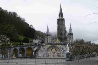Reopening of the Sanctuaries of Lourdes